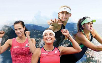 Spitzen-Tennis in Lugano