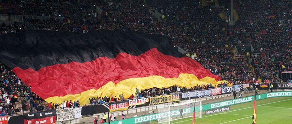 Werbemittel und Branding für den DFB