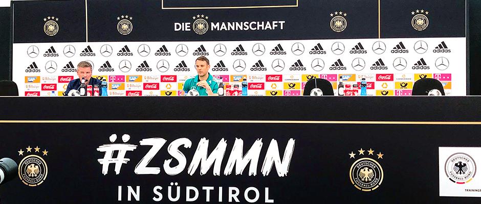 WM-Kader steht!