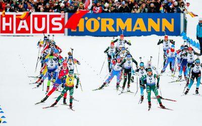 Grandioses Finale beim Biathlon
