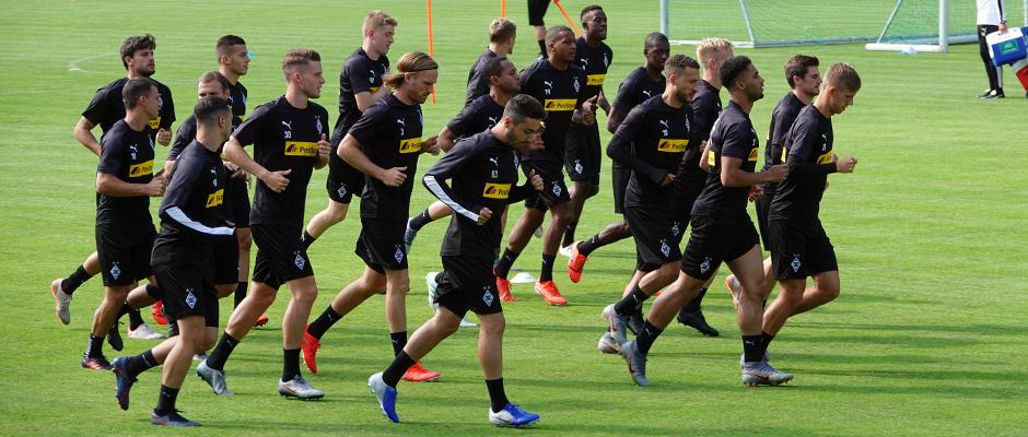 Borussia Mönchengladbach am See