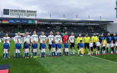 DFB-All Stars schaffen nur Remis