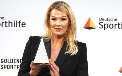 Goldene Sportpyramide verliehen.