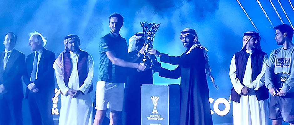 Diriyah Tennis Cup Saudi-Arabien