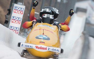 APA BOB-Leuchtbande mit fast 200 Rennen in 9 Ländern