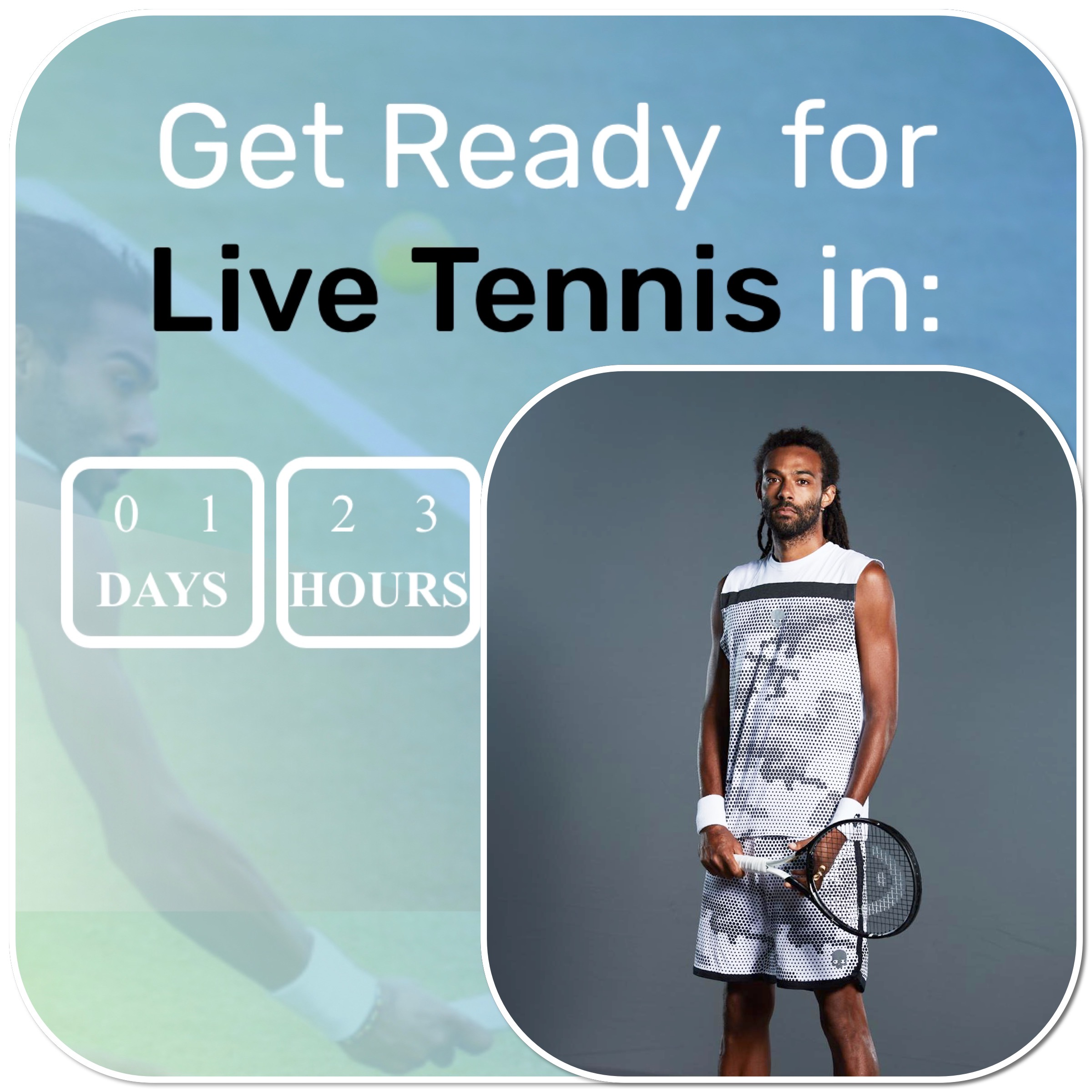 "Exo -Tennis und APA ""Bringing Tennis Back"""