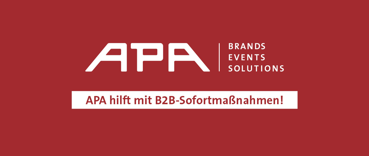 APA hilft mit B2B-Sofortmaßnahmen