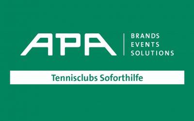 Tennisclubs Soforthilfe