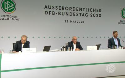 Erster digitaler Bundestag des DFB