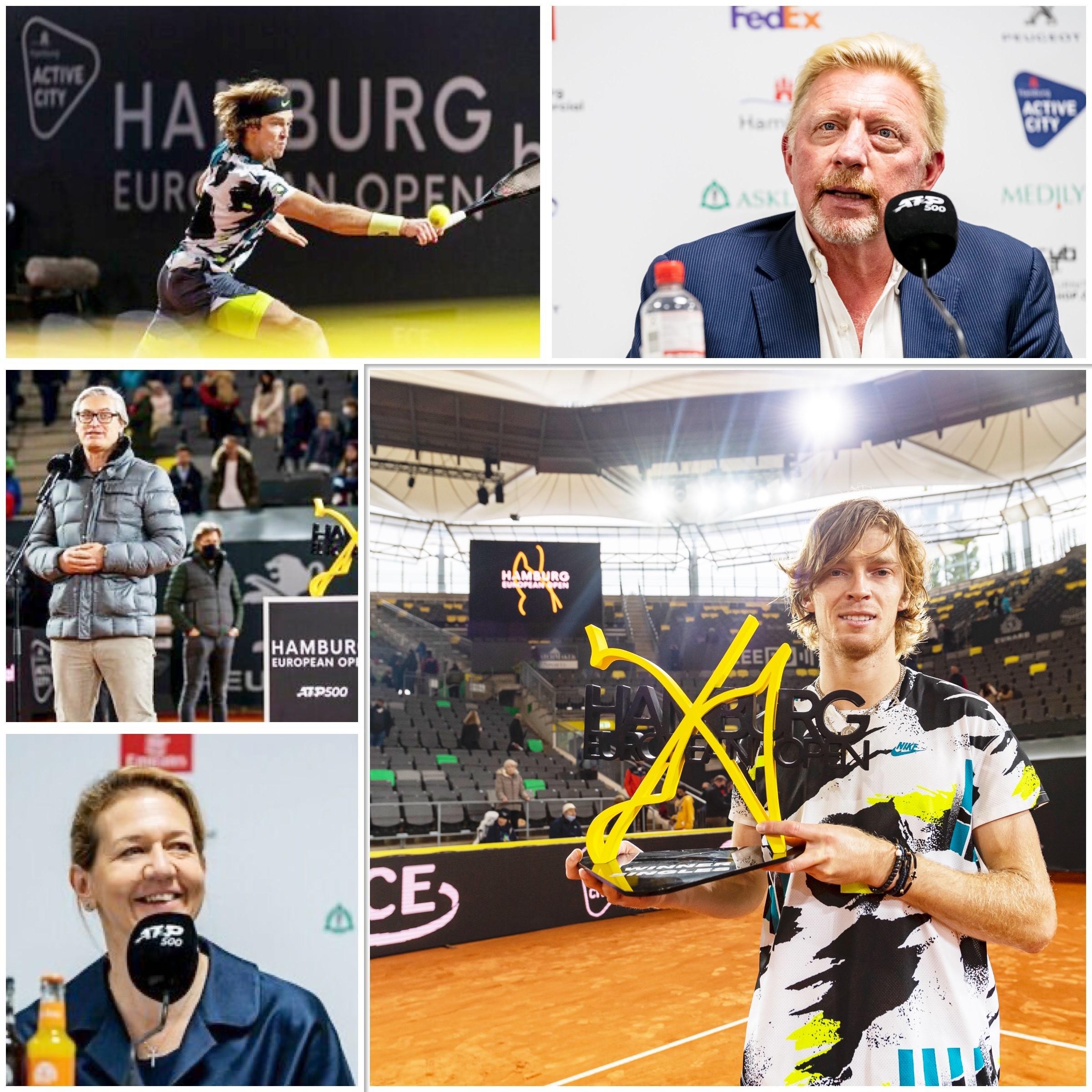 Die Tenniswelt blickte auf Hamburg