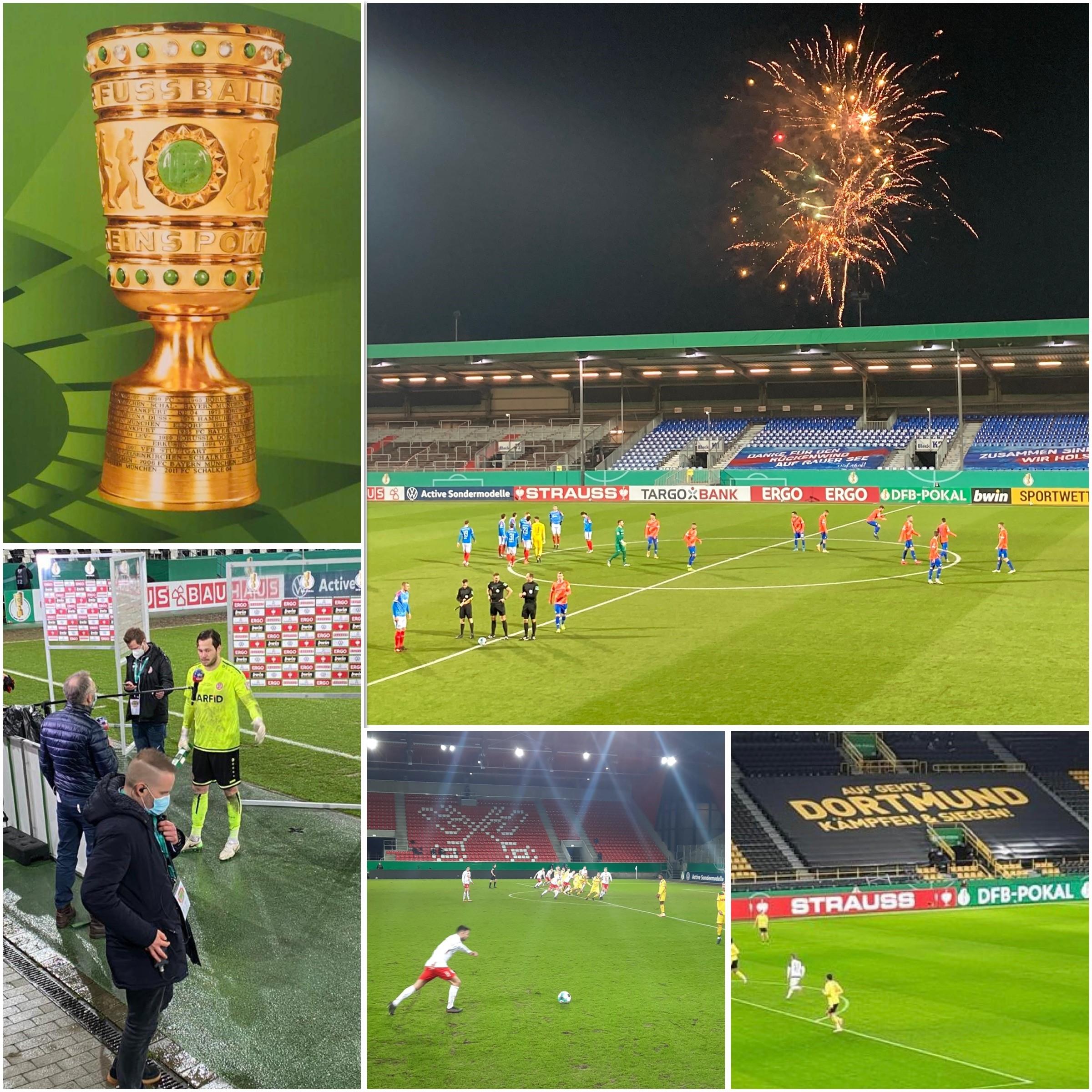 DFB Pokal  – der reine Wahnsinn!