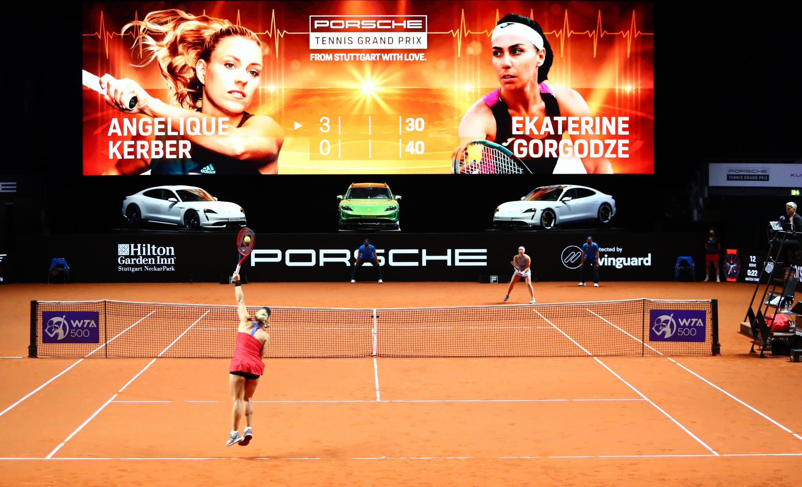Tennis-Weltklasse trifft Spitzentechnologie
