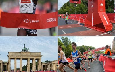 Jubiläumsmarathon in Berlin