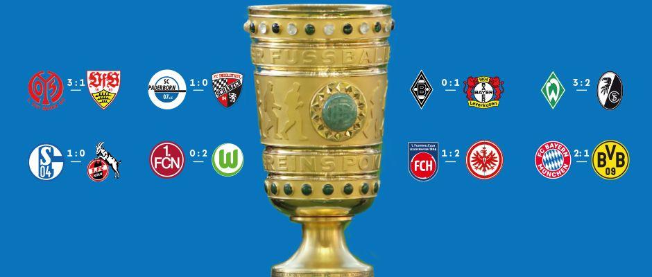 Bayern wirft BVB aus dem Pokal!